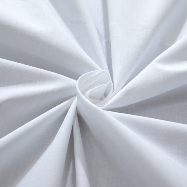 jual bahan kain cvc 200 tc putih