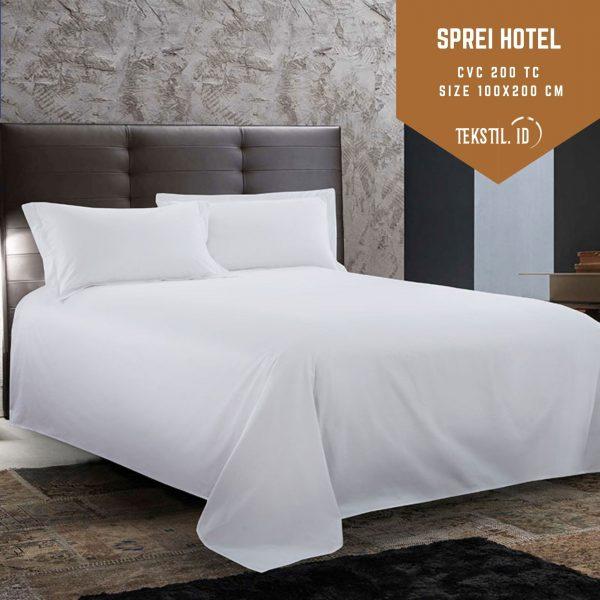 jual sprei hotel cvc size 100x200 cm di tekstil id